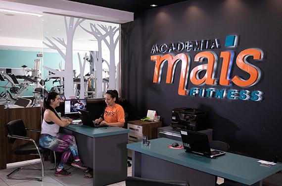 Recepção da Academia Mais Fitness de Francisco Beltrão - Pr